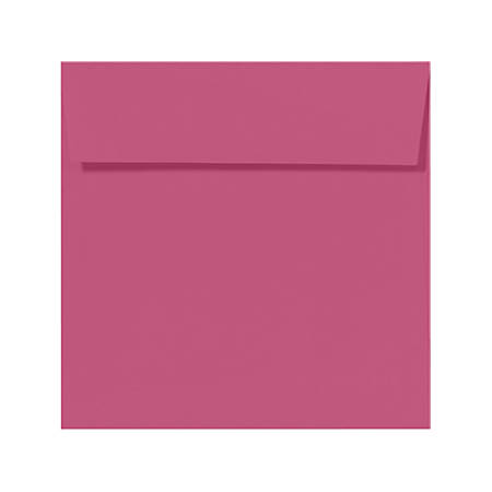 """LUX Square Envelopes With Peel & Press Closure, 5 1/2"""" x 5 1/2"""", Magenta, Pack Of 50"""