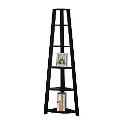 Monarch Specialties 5 Shelf Etagere Corner