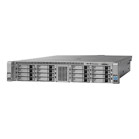 "Cisco UCS C240 M4 High-Density Rack Server (Small Form Factor Hard Disk Drive Model) - Server - rack-mountable - 2U - 2-way - RAM 0 MB - SATA/SAS - hot-swap 2.5"" - no HDD - G200e - GigE - no OS - monitor: none - DISTI"