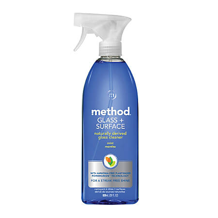 Method™ Glass & Surface Cleaner, Mint Scent, 28 Oz.