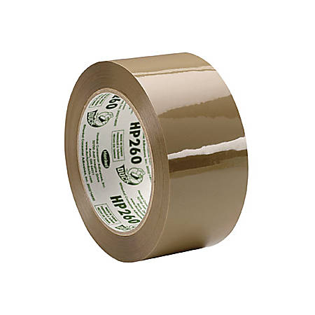 """Duck HP260 Commercial High Performance Tape - 1.88"""" Width x 60 yd Length - 3"""" Core - 3.10 mil - Acrylic Backing - Non-yellowing - 1 Roll - Tan"""