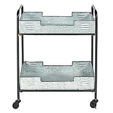 Linon Madge 2 Tier Metal Bar