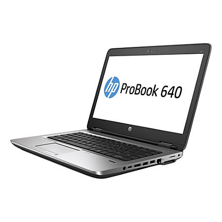 "HP ProBook 640 G1 Refurbished Laptop, 14"" Screen, Intel® Core™ i5, 8GB Memory, 500GB Hard Drive, Windows® 10 Professional"