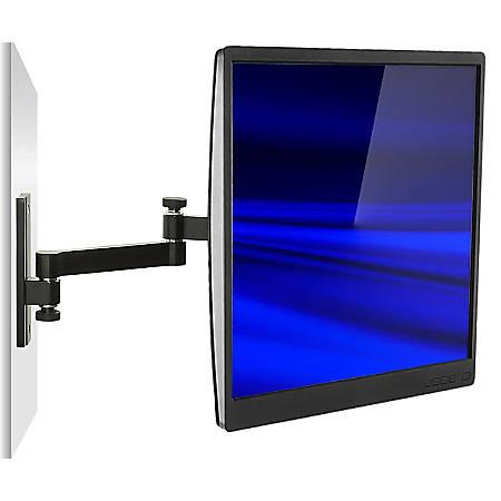 Mount-It! MI-404 Full Motion TV/Monitor Wall Mount, Black
