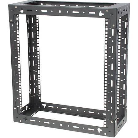 Innovation 119-1755 Wall Mount Rack Frame - 9U Rack Height - Black