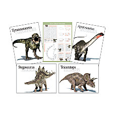 Barker Creek Dinosaur Poster Set 17