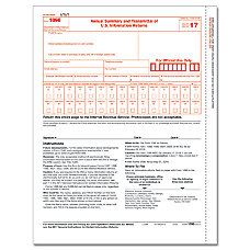 ComplyRight 1096 Transmittal InkjetLaser Tax Forms