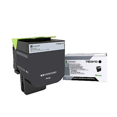 Lexmark™ 71B0H10 High-Yield Black Toner Cartridge