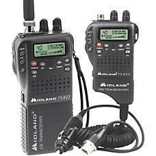 Midland CB Radio 75 822 Black
