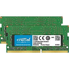 Crucial 32GB 2 x 16 GB