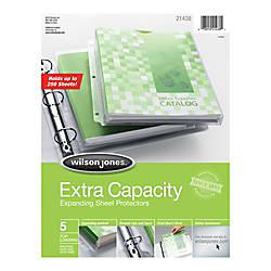 Wilson Jones ExtraExpandable Sheet Protectors 9