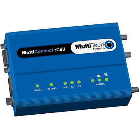 Multi-Tech MultiConnect rCell MTR-C2  Wireless Router - 2G - 1 x Network Port - Fast Ethernet - VPN Supported - Desktop