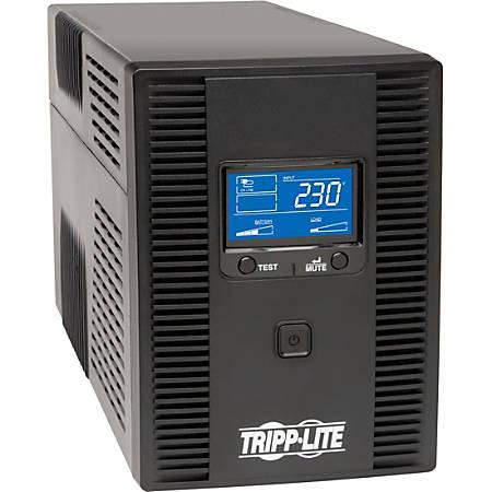 Tripp Lite UPS Smart 1500VA 900W International Tower AVR LCD 230V USB C13 - Tower - 8 Hour Recharge - 230 V DC Input - 8 x IEC 60320 C13