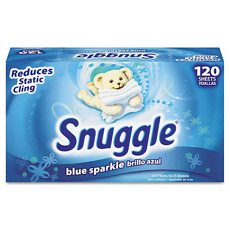 Snuggle® Fabric Softener Dryer Sheets, Fresh Scent, Box Of 120 Sheets