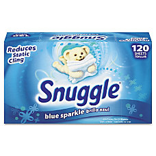 Snuggle Fabric Softener Dryer Sheets Fresh