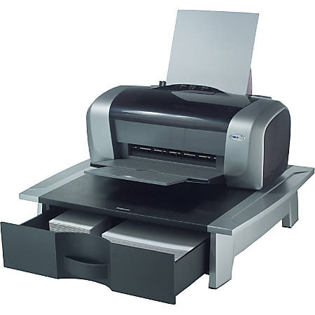 Fellowes Office Suites Printer Stand Blacksilver