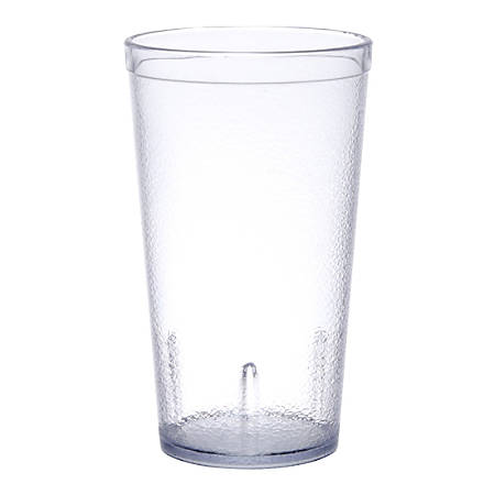 Carlisle Stackable SAN Plastic Tumblers, 12 Oz, Clear, Pack Of 72