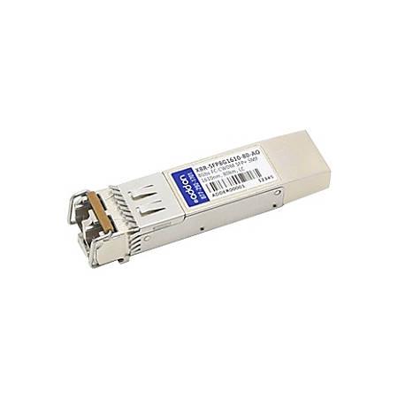 AddOn Brocade Compatible TAA Compliant 8Gbs Fibre Channel CWDM SFP+ Transceiver (SMF, 1610nm, 80km, LC)
