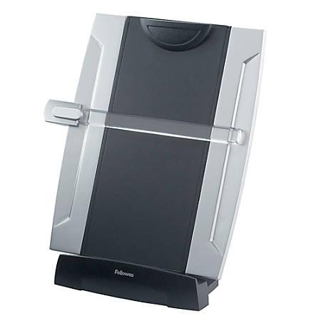 Fellowes® Office Suites Desktop Copyholder With Memo Board, Black/Silver