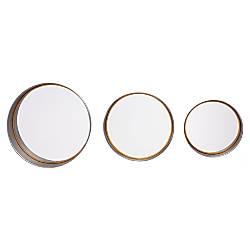 Zuo Modern Circa Round Mirrors Antique