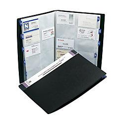 Rolodex poly business card book 480 card capacity 12 38 h x 9 18 w x rolodex poly business card book 480 card capacity 12 38 colourmoves