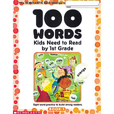 Scholastic 100 Words Kids Need To