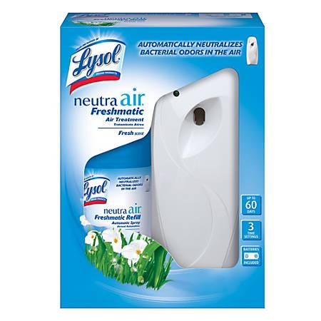 Lysol® Neutra Air® Freshmatic Automatic Spray Air Freshener Starter Kit, Fresh Scent