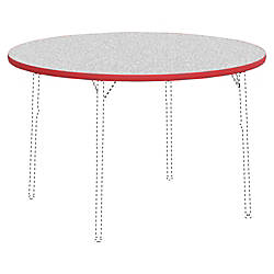 Lorell Classroom Round Activity Table Top