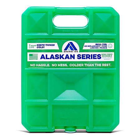 "Arctic Ice Alaskan Cold Pack - 6.3"" x 1.3"" - 1.50 lb"