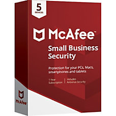 McAfee Small Business Security 5 Device