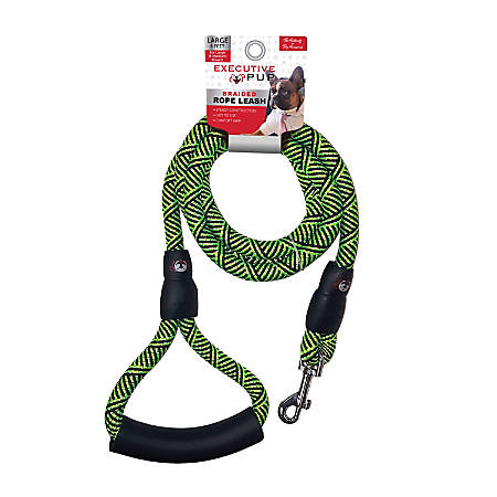 Executive Pup Rope Leash, 6', Green