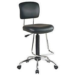 Office Star Drafting Chair With Chrome