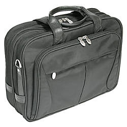 McKlein Pearson Nylon Briefcase Black