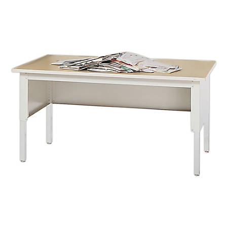 "Mayline® Kwik-File Mailflow-To-Go™ Work Table, 60""W x 30""D"