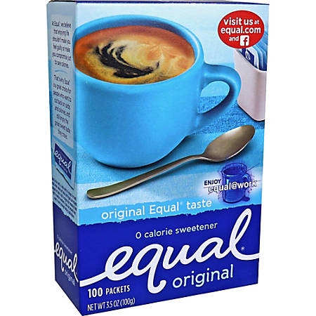 Equal® Packets, Box Of 100