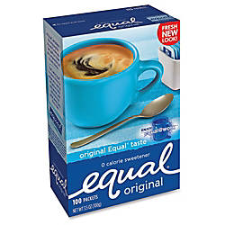 Equal Packets Box Of 100