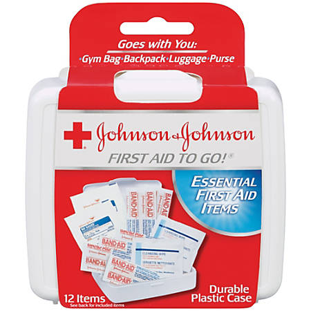 Johnson & Johnson® First Aid To Go!