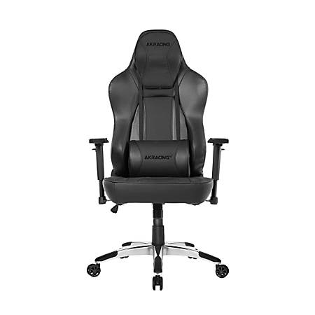 AKRacing™ Office Series Obsidian Ergonomic Computer Chair, Carbon Black