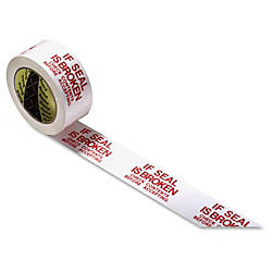 Scotch Pre Printed Message Sealing Tape