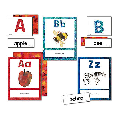 Carson-Dellosa World Of Eric Carle Learning Cards, Alphabet, Set Of 105 Cards