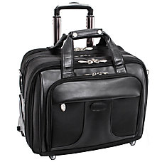 McKlein Chicago Wheeled Nylon Laptop Case