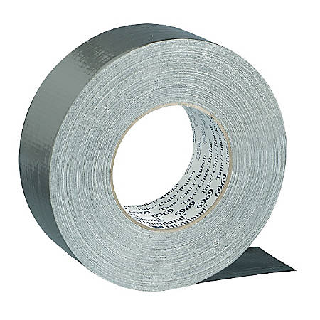 "Scotch® Industrial Cloth Duct Tape, 2"" x 60 Yd., Silver"