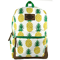"""Dickies® Colton Backpack With 16"""" Laptop Pocket, Pineapples"""