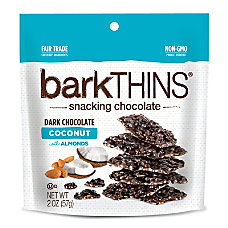 barkTHINS Dark Chocolate Coconut With Almonds
