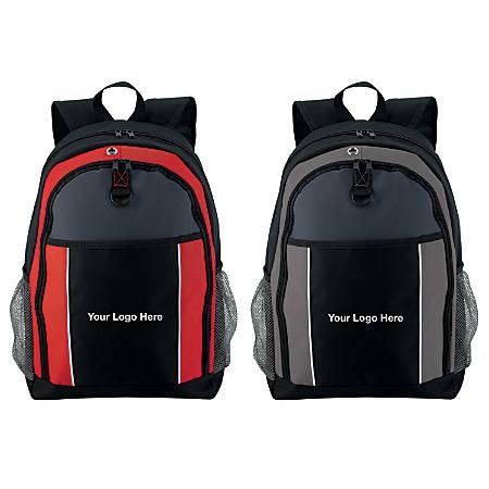 "Sharp Computer Backpack, 17 3/4""H x 13""W x 6 3/4""D"