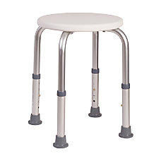 HealthSmart Extra Compact Adjustable Shower Stool
