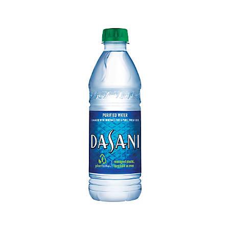 Dasani Water, 16.9 Oz, Pack Of 24 Bottles
