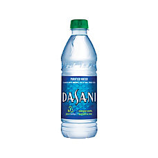 Dasani Water 169 Oz Pack Of