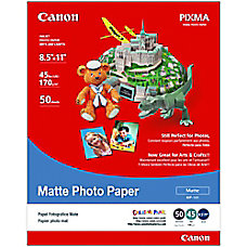 Canon Photo Paper Matte 8 12