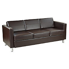 Ave Six Pacific Sofa EspressoChrome